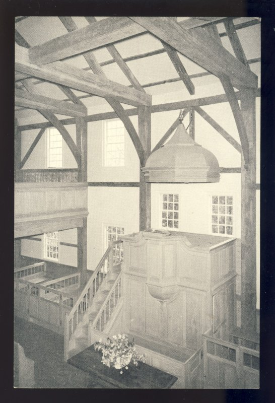 West Barnstable, Massachusetts/MA Postcard,West Parish Meetinghouse, Cape Cod