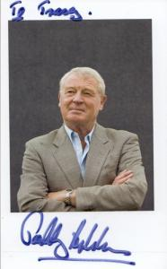 Paddy Ashdown Liberal MP Hand Signed Photo