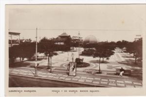 RP, LOURENCO MARQUES, Mozambique, 20-40s; Praca 7 De Marco, Band´s Square