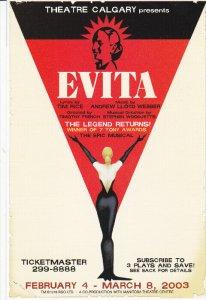 Theatre Calgary, Evita, Philadelphia Story, Copenhagen, CALGARY, Alberta, Can...