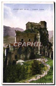 Old Postcard Entrevaux (BA) Citadelle Vauban