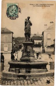 CPA CHATEAU-THIERRY La fontaine de gerbrois (157510)