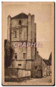 Old Postcard Jouarre monastery Tour de Jouarre