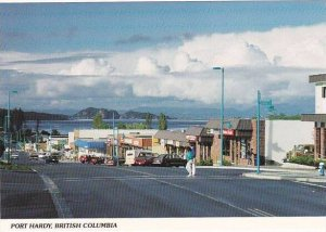 Canada British Columbia Port Hardy Market Street