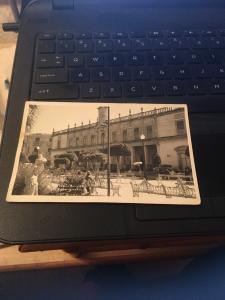 Vtg Postcard:palacio Municipal  Mexico