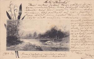 Austria no Czech Republic , PU-1904 ; Kourim to Pelhrimov cancel
