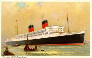 Cunard Lines - RMS Mauretania