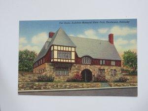 Tea Room at Audubon Memorial State Park Henderson KENTUCKY Linen Postcard