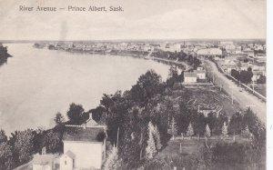 PRINCE ALBERT , Saskatchewan, Canada, 1900-10s; River Avenue