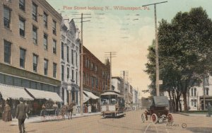 WILLIAMSPORT , Pennsylvania , 00-10s ; Pine Street looking North