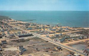 Dewey Beach Delaware Birdseye View Of City Vintage Postcard K90870