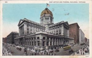 Illinois Chicago Post Office And Federal Building 1927