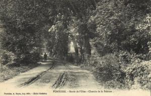 CPA Pontoise (Dep.95) Bords de l'oise - Chemin de la Pelouse (68843)