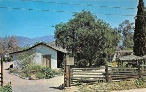 ADOBE DE PALOMARES Pomona, California ca 1960s Vintage Postcard