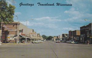 TOMAHAWK , Wisconsin , 50-60s ; Main Street