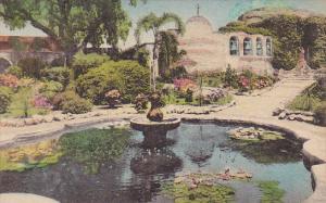 Old Pepper Tree Front Garden Old Mission San Juan Capistrano California Handc...