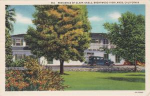 BRENTWOOD HIGHLANDS , California , 30-40s ; Residence of Clark Gable