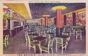 Washington DC The Mayfair The cafe of All Nations Curteich