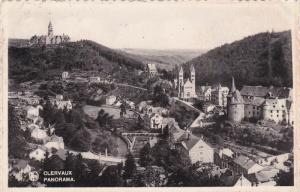 LUXEMBOURG, PU-1937; Clervaux Panorama