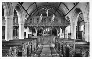 Mullion Church The Nave Crucifix Eglise