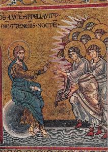 Monreale - The Creation of the Angels La Creazione degli Angeli