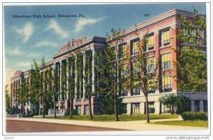 High School Allentown Pennsylvania 30's - 40's