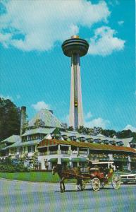 Canada Ontario Niagara Falls The Refectory Restaurant Taken From Queen Victor...