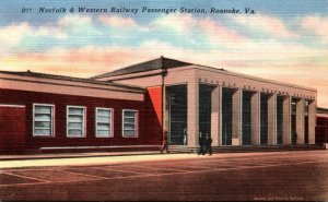Virginia Roanoke Norfolk & Western Railway Passenger Station