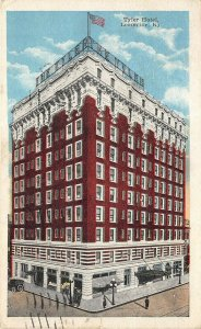 Louisville Kentucky 1927 Postcard Tyler Hotel