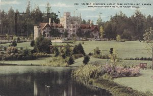 VICTORIA, British Columbia, Canada, PU-1933; Stately Residence, Hatley Park
