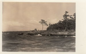 RP: BURLINGTON , Vermont, 1930s ; Oakledge Manor on Lake Champlain