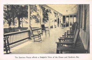 Orient Point Inn, Orient Point, Long Island, N.Y.,  Early Postcard, Unused
