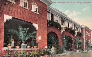 Theater, Idora Park, Oakland, California, Early Postcard, Used in 1909