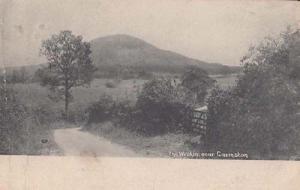 Garmston Shropshire Village Vintage Postcard