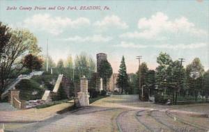 Pennsylvania Reading Berks County Prison and City Park