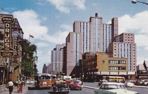 Dorchester Street , East , MONTREAL . Quebec , Canada , 50-60s