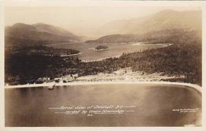 RP; Aerial View, SECHELT . B.C., Canada , 1910-20s