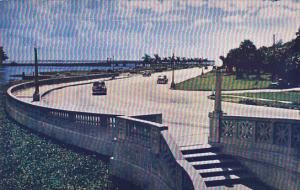 Highway On Hillsborough River Tampa Florida