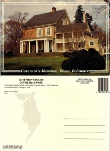 Governor's Mansion, Dover, Delaware