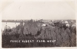 RP, Prince Albert From West, Saskatchewan, Canada, 1920-1940s