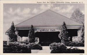 Huston Hall Ben Lippen Conference Center Asheville North Carolina 1964
