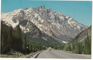 Canada, Mount Tupper and the Rogers Pass, 1969 used Postcard