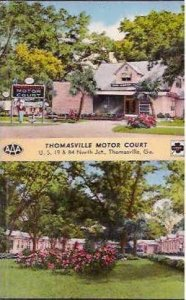 GA Thomasville Motor Court