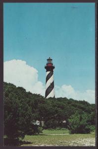 St Augustine Lighthouse,FL Postcard