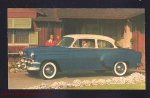 1954 CHEVROLET '54 CHEVY ROSELLE PARK NEW JERSEY CAR DEALER ADVERTISING POSTCARD