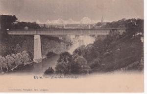 BERN, Switzerland, 1900-10s; Eisenbuhnbrucke