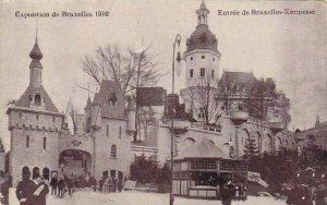Exposition Universelle Bruxelles 1910 Entree de Bruxelles Kermesse