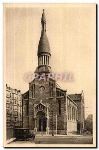 Paris Postcard Ancient Church of ND & # 39Auteuil