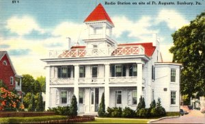 Pennsylvania Sunbury Radio Station On Site Of Fort Augusta