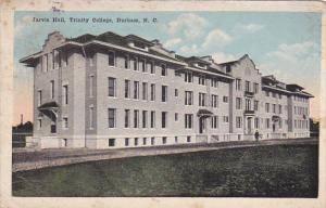 Exterior,  Jarvis Hall,  Trinity College,  Durham,  North Carolina,   PU_1919